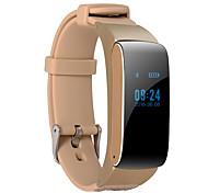 Недорогие -D22 Смарт-часы Смарт-браслет наушник Ремешки на руку Android Сенсорный экран Израсходовано калорий Педометры Регистрация деятельности