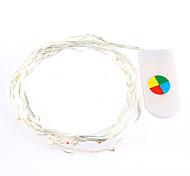 2 m de cor quente / branco levou uma corda de luzes para decoração de natal