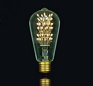 cheap -1pc 3 E27 E26/E27 E26 B22 ST64 Warm White 2300 K LED Filament Bulbs AC85-265 AC 220V AC 85-265V V