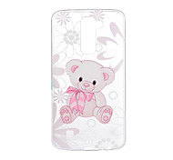 cheap -Case For LG G3 LG K8 LG LG K10 LG K7 LG G5 LG G4 Pattern Back Cover Cartoon Soft TPU for LG V20 LG V10