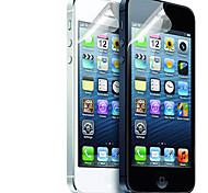 Недорогие -[12-Pack] Высокое качество Матовая антибликовым покрытием Защитные пленки для iPhone 5/5S