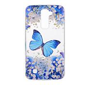 cheap -Case For LG G3 LG K8 LG LG K10 LG K7 LG G5 LG G4 Pattern Back Cover Butterfly Soft TPU for LG V20 LG V10