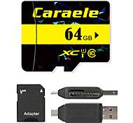 Caraele 64 Гб Карточка TF Micro SD карты карта памяти UHS-I U1 Class10