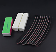 13PCS/set Sanding Files Buffer Block Nail Art Salon Manicure Pedicure Tools UV Gel Set Kits