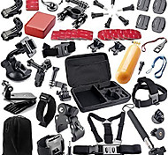 Accessory Kit For Gopro All in One For Action Camera All Action Camera Gopro 5 Gopro 4 Session Gopro 4 Gopro 4 Silver Gopro 4 Black Gopro