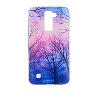 cheap -Case For LG G3 LG K8 LG LG K10 LG K7 LG G5 LG G4 Pattern Back Cover Tree Soft TPU for LG V20 LG V10