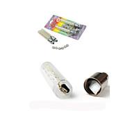luci della rotella LED - Ciclismo Colore variabile AG10 90 Lumens Batteria Ciclismo Luci veicoli moto