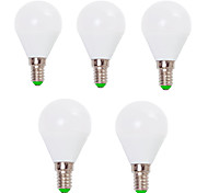 cheap -EXUP® 5pcs 7W 800lm E14 E26 / E27 LED Globe Bulbs G45 12 LED Beads SMD 2835 Decorative Warm White Cold White 110-130V 220-240V