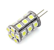 abordables -G4 Luces LED de Doble Pin Tubo 24 SMD 5050 270 lm Blanco Cálido Blanco Fresco Rojo Azul Verde K Regulable Decorativa DC 12 V