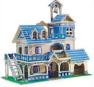 Пазлы Деревянные пазлы Строительные блоки DIY игрушки Сфера Боец 1 Дерево Со стразами Модели и конструкторы