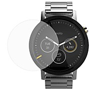 cheap -Screen Protector For Moto 360 2nd Tempered Glass Ultra Thin Explosion Proof 9H Hardness High Definition (HD) 2 pcs