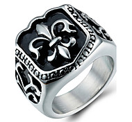 cheap -Men's Ring Statement Ring - Fashion Silver Ring For Daily Casual