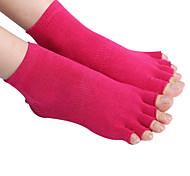 cheap -Unisex Hiking Socks Toe Socks Socks Sweat-wicking Anti-skidding/Non-Skid/Antiskid for Yoga