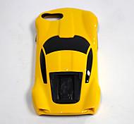 Недорогие -Кейс для Назначение Apple Кейс для iPhone 5 iPhone 6 iPhone 7 Защита от удара со стендом Кейс на заднюю панель 3D в мультяшном стиле
