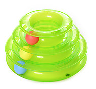 Cat Toy Pet Toys Ball Interactive Ball Track Disk Plastic For Pets