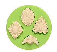 Недорогие -Инструмент для отделки многообещающий конфеты Лед Шоколад Пицца Пироги Cupcake Печенье Торты Other Силикон Экологичные Своими руками День