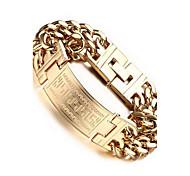 Муж. Браслеты-цепочки и звенья европейский Богемия Стиль Мода Ручная работа Нержавеющая сталь бесконечность Бижутерия Назначение Свадьба