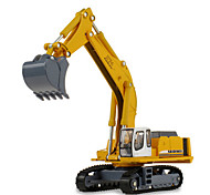 Toy Cars Toys Construction Vehicle Excavator Toys Excavating Machinery ABS Plastic Metal Classic & Timeless Chic & Modern 1 Pieces Girls'