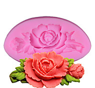 cheap -Mold Flower For Pudding For Candy For Cookie For Cake For Bread Silicone DIY Thanksgiving Valentine's Day Birthday Wedding High Quality