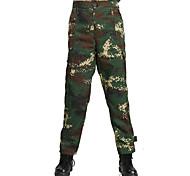 Муж. Жен. Универсальные Камуфляжные брюки для охоты Пригодно для носки Легкие материалы камуфляж Нижняя часть для Охота S M L XL XXL