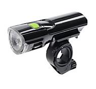 Lampe Avant de Vélo LED Cyclisme Intensité Réglable AAA Lumens Batterie Camping/Randonnée/Spéléologie Cyclisme