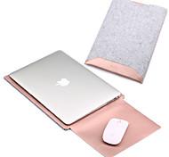 Рукава для MacBook Pro, 15 дюймов MacBook Air, 13 дюймов MacBook Pro, 13 дюймов MacBook Air, 11 дюймов Macbook Сплошной цветИскусственная