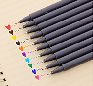 0.38 Mm 10-Color Painting Water Color Pen(10 PCS/Set)