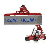Недорогие -Игрушечные машинки Игрушки Строительная техника Игрушки Выдвижной Автопогрузчик Металлический сплав пластик Металл ABS Классический и