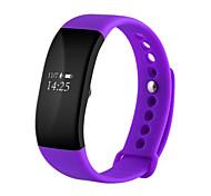 ip68 bluetooth4.0 étanche surveillance de fréquence cardiaque exercice étape bracelet portable intelligent pour ios android
