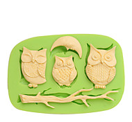 Рекламные подарки силиконовые 3d торт декоративные формы совы цвет случайный цвет случайный