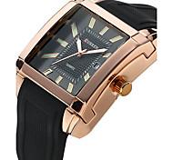 Недорогие -Муж. Модные часы Наручные часы Спортивные часы Нарядные часы Кварцевый Натуральная кожа Группа Кулоны Роскошь На каждый день Разноцветный