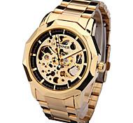Men's Sport Watch Dress Watch Fashion Watch Wrist watch Mechanical Watch Automatic self-winding Genuine Leather Band Charm Casual