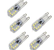 Недорогие -BRELONG® 4 Вт. 350 lm G9 LED лампы типа Корн T 14 светодиоды SMD 2835 Диммируемая Декоративная Тёплый белый Холодный белый AC 200-240 В