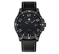 Спортивные часы Японский кварц Натуральная кожа Группа Cool Черный Коричневый