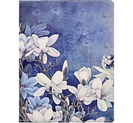 cheap -Case For Apple iPad 4/3/2 iPad Air 2 iPad Air with Stand Pattern Full Body Cases Flower Hard PU Leather for iPad 4/3/2 iPad Air iPad Air