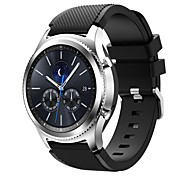 cheap -Watch Band for Gear S3 Frontier Gear S3 Classic Samsung Galaxy Sport Band Silicone Wrist Strap