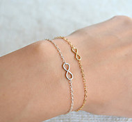 cheap -Women's Chain Bracelet Bohemian Basic Fashion Alloy Infinity Jewelry Christmas Gifts Wedding Party Birthday Engagement Daily Casual