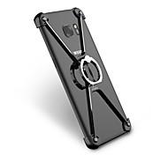 Pour Antichoc Anneau de Maintien Coque Antichoc Coque Couleur Pleine Dur Aluminium pour Samsung S7 edge S6 edge plus S6 edge