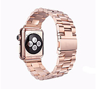 Watch Band for Apple Watch 3 38mm 42mm Stainless Steel Butterfly Buckle Band