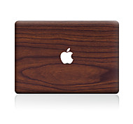 For MacBook Air 11 13/Pro13 15/Pro with Retina13 15/MacBook12 Brown Wood Grain Line Decorative Skin Sticker