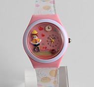 Fashion Watch Quartz / Plastic Band Cartoon Casual Multi-Colored Brand