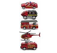 Недорогие -Playsets автомобиля Пожарная машина Игрушки Автомобиль Металл Классический и неустаревающий Изысканный и современный 1 Куски Мальчики