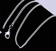 Necklace Non Stone Chain Necklaces Jewelry Birthday Daily Casual Single StrandBasic Design Cute Style Euramerican Fashion Vintage Punk