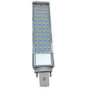 10W G23 E26/E27 G24 Luces LED de Doble Pin T 55 leds SMD 2835 Decorativa Blanco Cálido Blanco Fresco 1000-1100lm 3000/6000K AC 100-240 AC