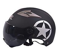 Недорогие -GXT m11 мотоцикл половина шлем двойной линзы Харли солнцезащитный шлем летом унисекс подходит для 55-61cm с коротким чайном зеркальным