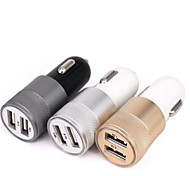 cheap -Car Charger QC2.0 2 USB Ports Charger 2.1A Dual USB Car Charger