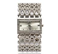 Women's Fashion Watch Wrist watch Bracelet Watch Quartz Rhinestone Imitation Diamond Alloy Band Elegant Silver Gold Rose Gold