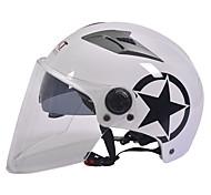Недорогие -GXT m11 мотоцикл половина шлем двойной линзы Харли солнцезащитный шлем летом унисекс подходит для 55-61cm с длинной прозрачной линзой