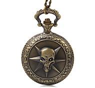 Недорогие -Муж. Кварцевый Карманные часы Повседневные часы Материал Группа Винтаж Бронза Роуз