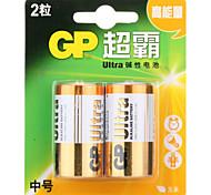 gp gp14au-2il2 c alikaline batteria 1.5v 2 pezzi
